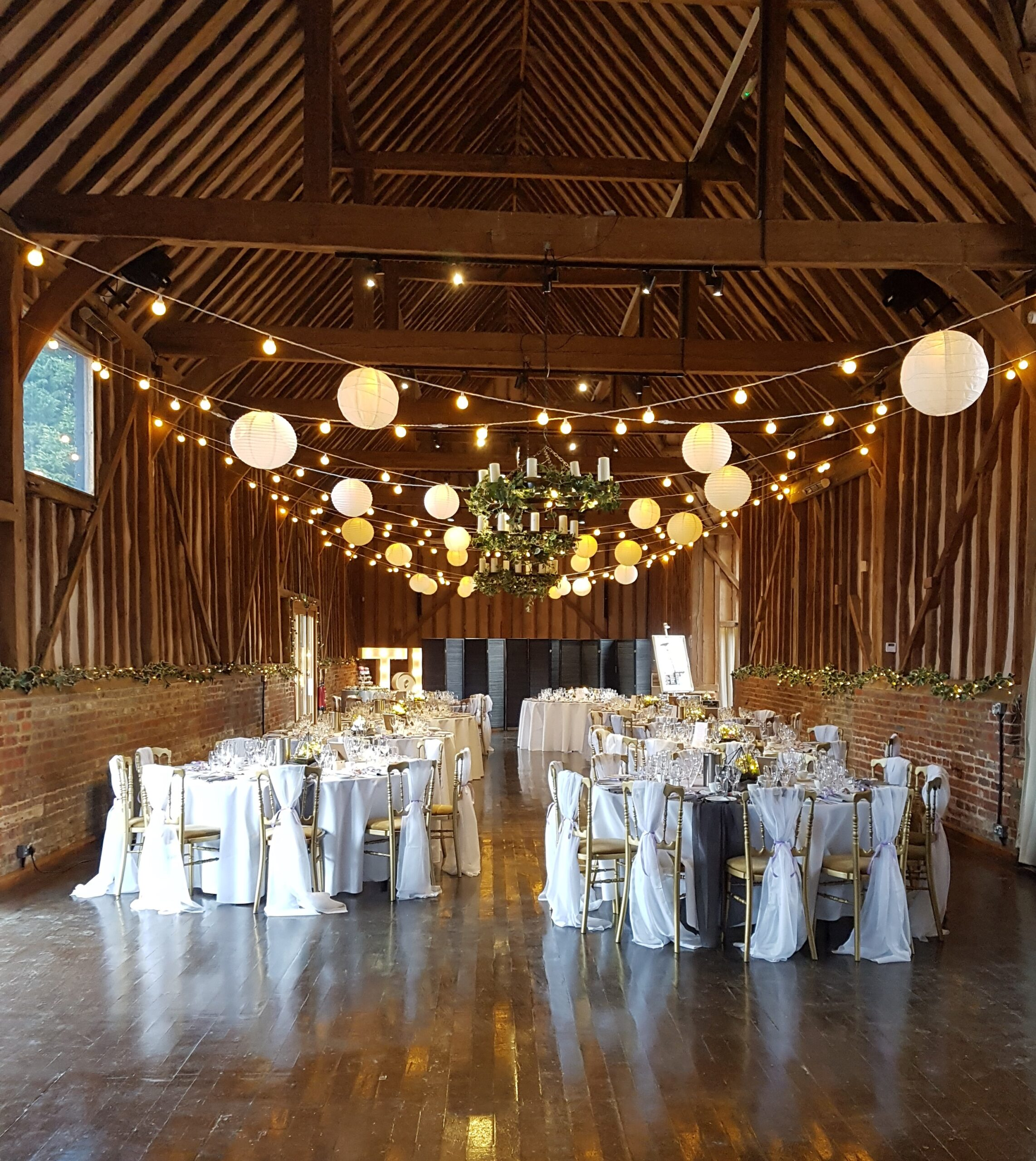 Fairy and festoon wedding and event lights for hire in Berkshire.